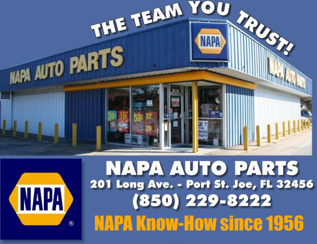 NAPA Auto Parts, Port St. Joe, Florida